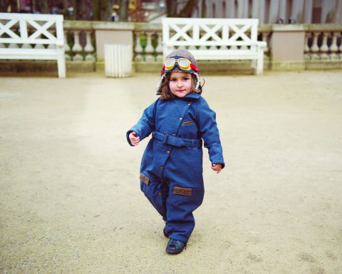 flight suit kid's garret Amelia Earhart 3