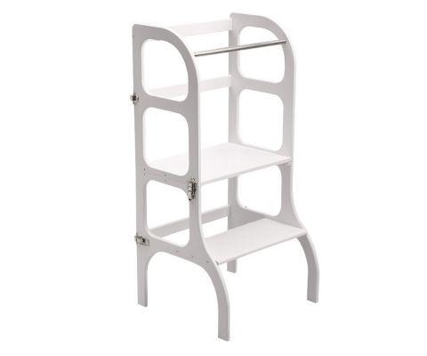 Helper Tower Step'nSit, a Montessori accessory from ette tete :: Baby Bottega