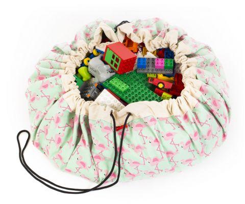 Flamingo Toy Bag