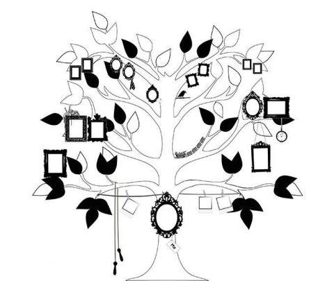 Murale Carta da Parati Me Tree