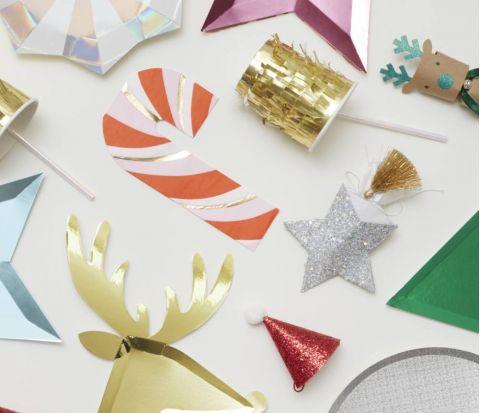 Gold Fringe Party Cups from Meri Meri :: Baby Bottega