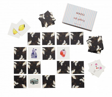Memory Game Cards from Mado :: Available at Baby Bottega