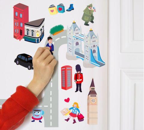 Stickers Riutilizzabili Londra