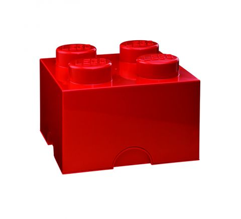 Lego Storage Brick Red