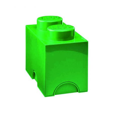 Lego Storage Brick Green