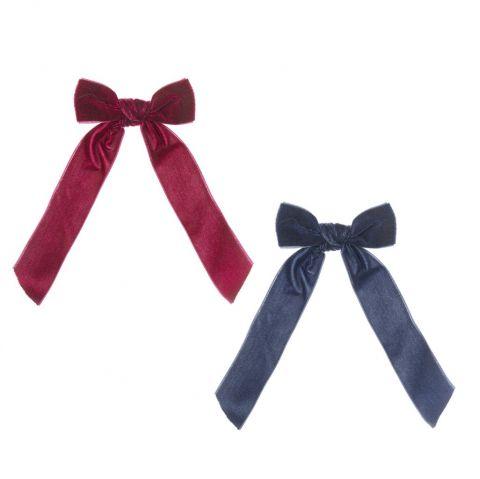 Fermacapelli Arabella Velvet Bow di Mimi & Lula :: acquista ora su Baby Bottega