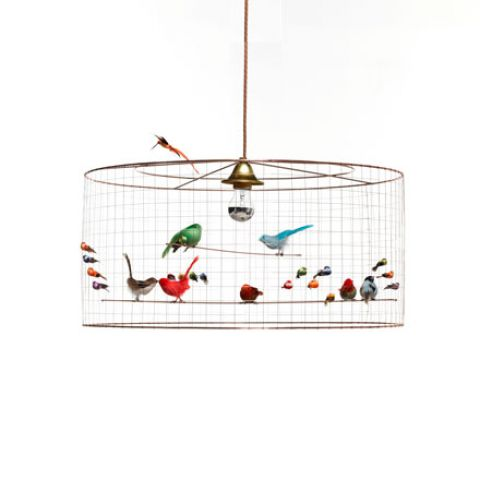 demi grand voliere birds chandelier baby bottega florence