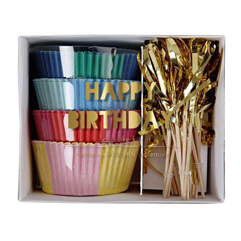 Kit per Cupcakes Happy Birthday