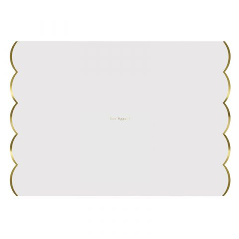 Gold Foiled Placemats