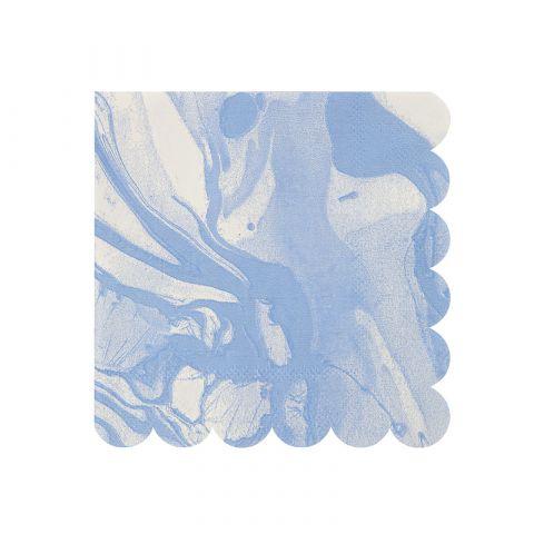 Tovaglioli Piccoli Marble Blue