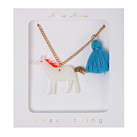Horse Tassel Necklace from Meri Meri :: Baby Bottega