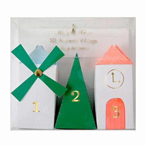 Calendario dell'Avvento Villaggio di Natale