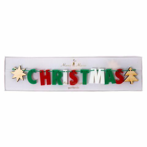 6099_Ghirlanda Natale in Acrilico Merry Christmas