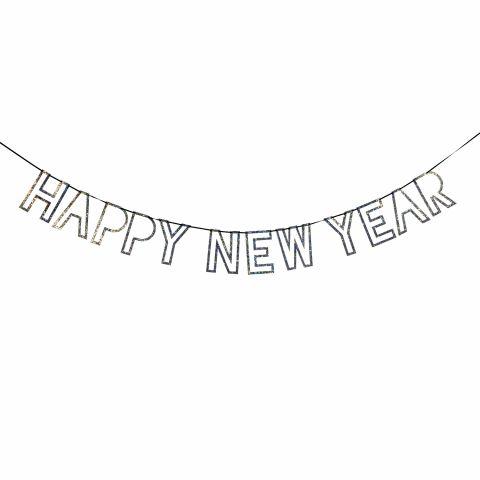 New Year Garland