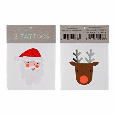 Tatuaggi Babbo Natale & Renna