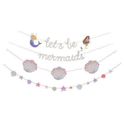 Let's Be Mermaids Garland