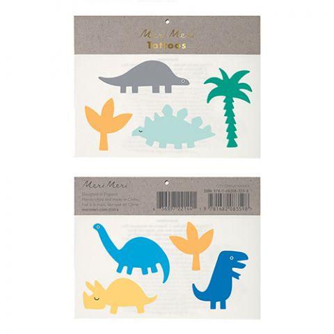 Dinosaur Tattoos  from Meri Meri :: Online at Baby Bottega