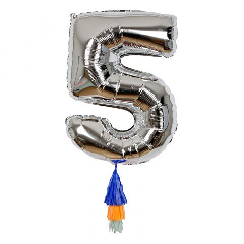 Fancy Number Balloon 5