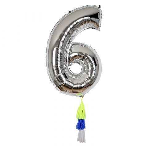 Palloncino Gigante Numero 6