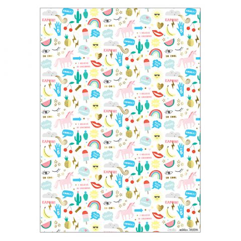 Icons Wrapping Paper