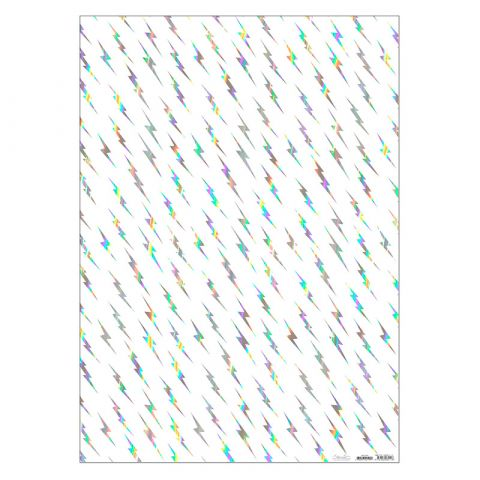 Silver Flash Wrapping Paper
