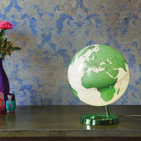 Hot Green World Globe Table Lamp