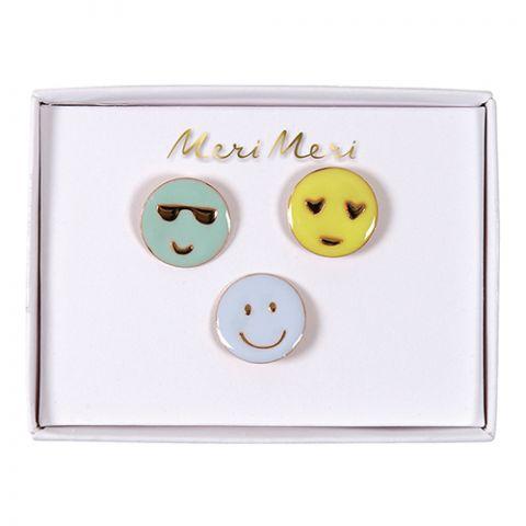 Emoji Enamel Pins