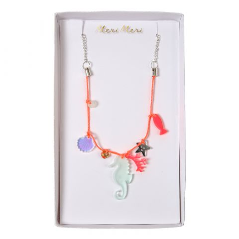 Sea Creatures Charm Necklace