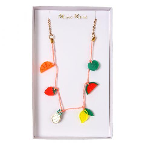 Fruit Charm Necklace