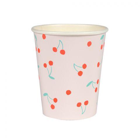 Bicchieri Cherry di Meri Meri :: acquista su Baby Bottega