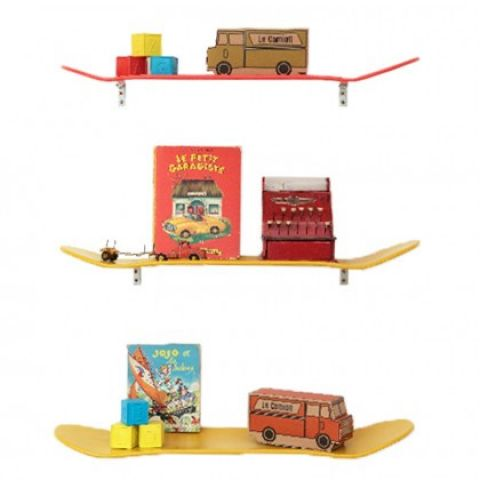 mensola skateboard legno lecons des choses 2