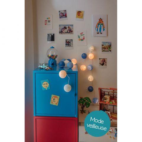 Lucien garland lights from La Case de Cousin Paul :: Baby Bottega