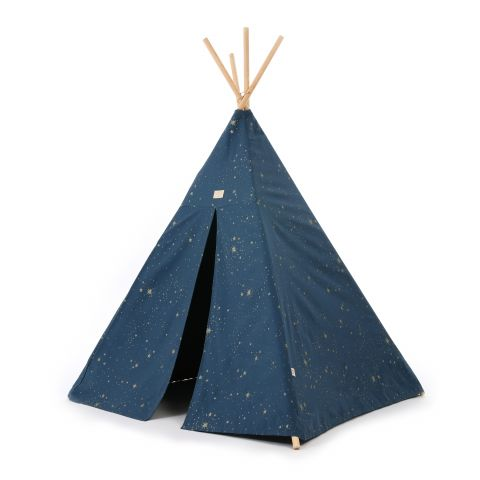 8481_phoenix_teepee_gold_stella_night_blue_nobodinoz