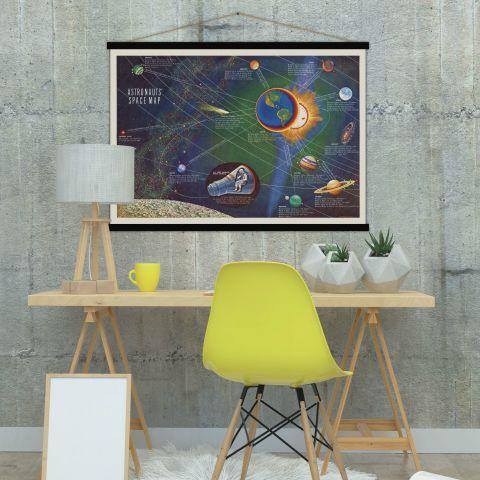 Astronaut Space Map :: Baby Bottega