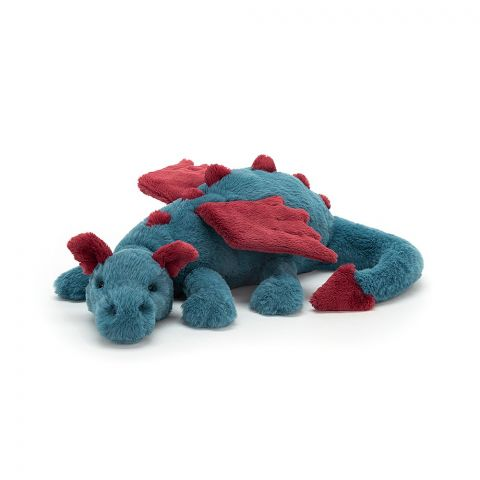 Dexter Dragon soft toy from Jellycat :: Baby Bottega