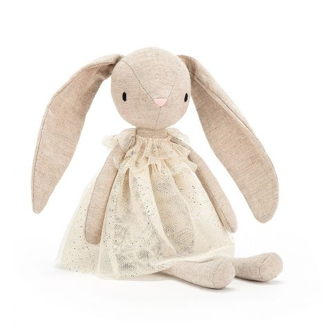 Jolie Bunny soft toy from Jellycat :: Baby Bottega