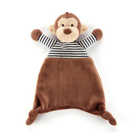 Stripey Monkey Soother from Jellycat :: Baby Bottega