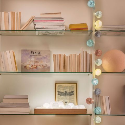 Celeste garland lights from La Case de Cousin Paul :: Baby Bottega