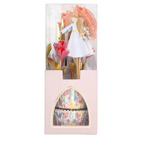 Magical Princess Cupcake Kit di Meri Meri :: acquista ora su Baby Bottega