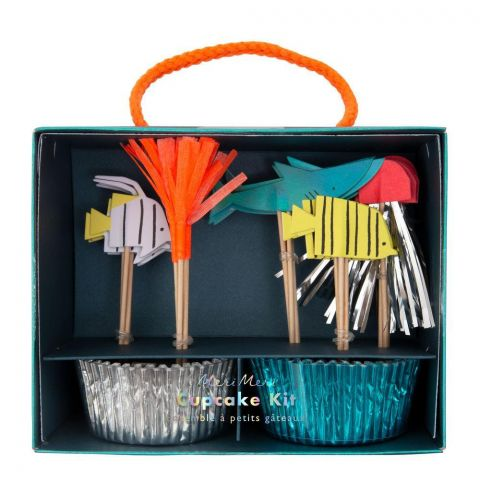 Under the Sea Cupcake Kit from Meri Meri :: Available at Baby Bottega