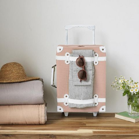 See-ya suitcase in rose from Olli Ella :: Baby Bottega