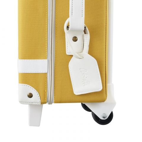 See-ya suitcase in mustard from Olli Ella :: Baby Bottega