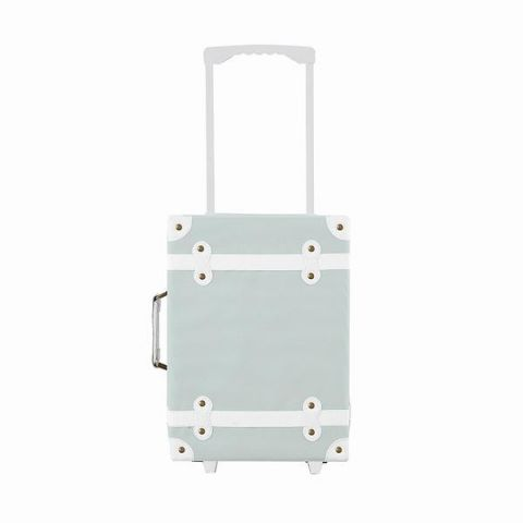 See-ya suitcase in mint from Olli Ella :: Baby Bottega