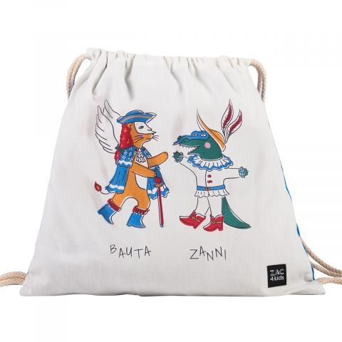 Soft backpack Bauta & Zanni from Zac 4 Kids :: Available on Baby Design