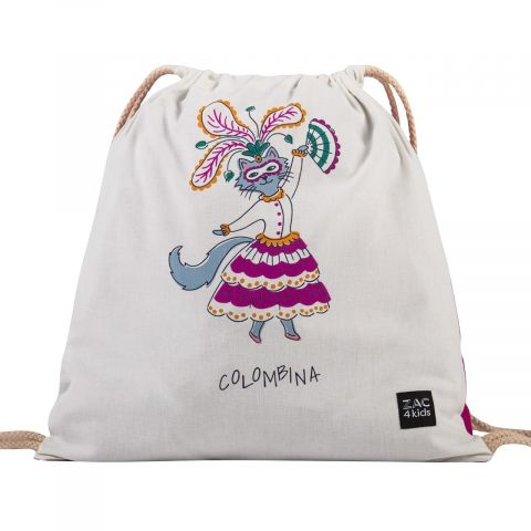 Soft Backpack Colombina from Zac 4 Kids :: Baby Bottega