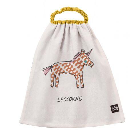 Bavaglio Leocorno, Ocra di Zac 4 Kids :: acquista ora su Baby Bottega