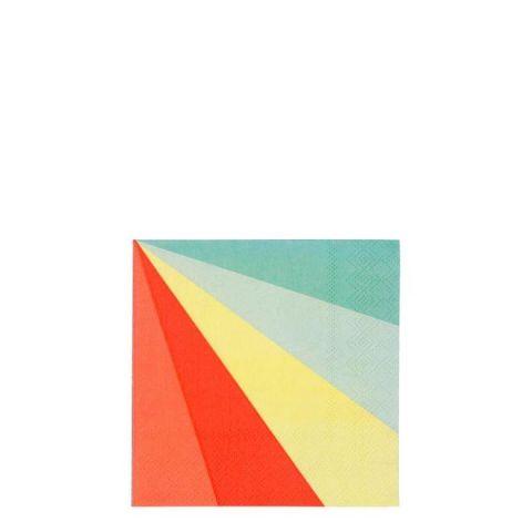 Colour Wheel Tovagliolini di Meri Meri :: acquista ora su Baby Bottega