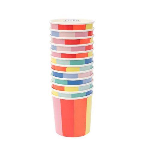 Colour Wheel Bicchieri di Meri Meri :: acquista ora su Baby Bottega