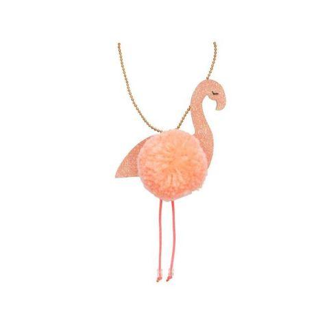 Flamingo Pompom necklace from Meri Meri :: Baby Bottega