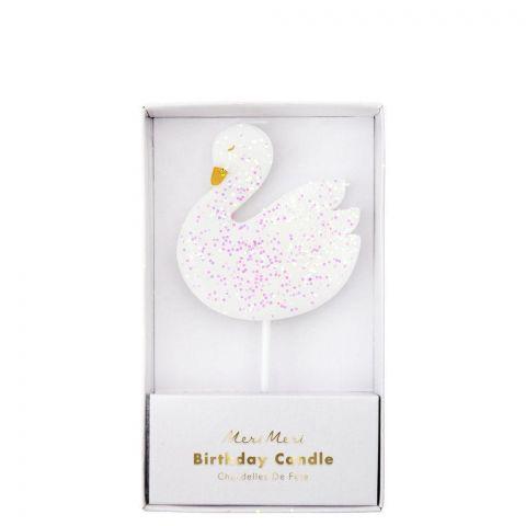 Large Swan candle from Meri Meri :: Baby Bottega
